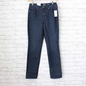 Style & Co. High-Rise Straight Leg Jeans, 8 Long